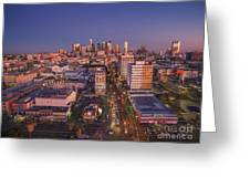 Westlake Los Angeles Aerial Greeting Card