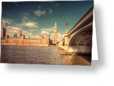 Westminster Big Ben Greeting Card