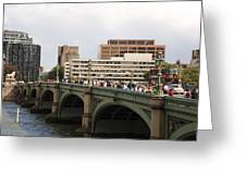 Westminster Bridge.  Greeting Card