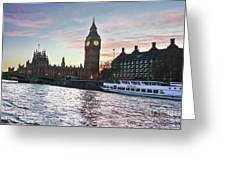 Westminster London Greeting Card