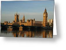 Westminster Morning Greeting Card