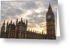 Westminster Palace Greeting Card