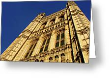 Westminster Palace, London Greeting Card