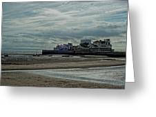 Weston - Super -mare  -  Outflow - Hdr Greeting Card