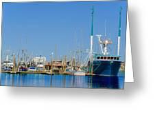 Westport Docks Color Greeting Card