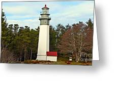 Westport Lighthouse Greeting Card