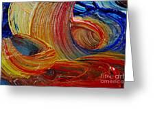 Wet Paint - Run Colors Greeting Card