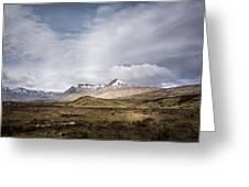 Wet Scotland Greeting Card