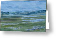 Wet Summer In Big Sky Country Greeting Card