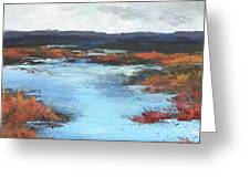 Wetlands Of Washington Greeting Card