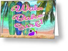 Wetpaint420 Greeting Card