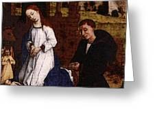 Weyden Bladelin Triptych     Greeting Card