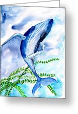Whale 6 Greeting Card