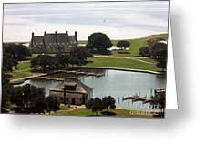 Whalehead Club And Boathouse Greeting Card
