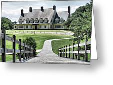 Whalehead Club Greeting Card