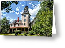 Wharton Mansion Greeting Card