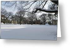 What I Love About Winter Greeting Card
