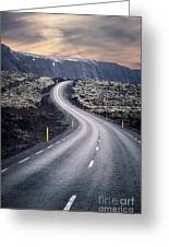 What Lies Ahead Greeting Card