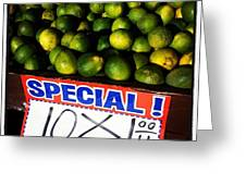 What Lime Shortage? #dontbelievethehype Greeting Card