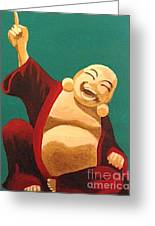 What You Think You Become Buddha Greeting Card