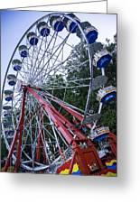 Wheel At The Fair Greeting Card