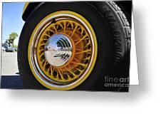 Wheel Nice Greeting Card