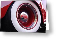 Wheel Reflection Greeting Card