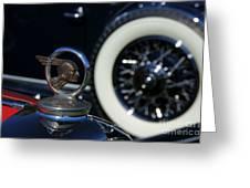 Wheel To Wheel Greeting Card by David Pettit