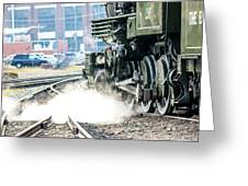 Wheels And Gears Engine 26 Greeting Card