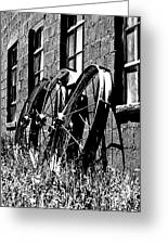 Wheels From The Past Greeting Card