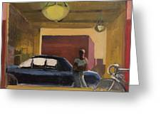 Wheels In The City Greeting Card