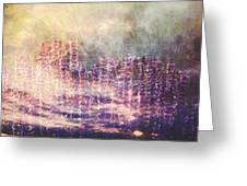 When Earth And Sky Collide Greeting Card