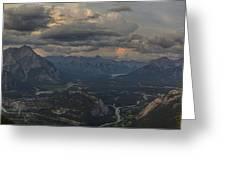When In Banff Canada Greeting Card
