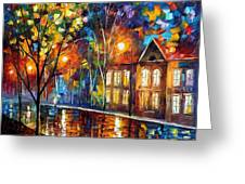 When The City Sleeps Greeting Card