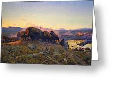 When The Land Belonged To God Greeting Card