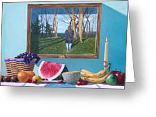 Where Fruit Of Life Lies Within Greeting Card