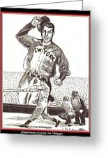 Where Have You Gone Joe Dimaggio  Greeting Card