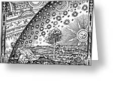 Where Heaven And Earth Meet 1888 Greeting Card