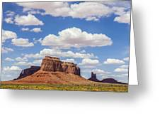 Where The Earth Meets The Sky Greeting Card