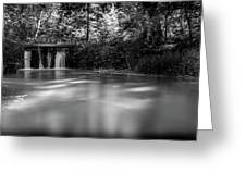 Where The River Ends Greeting Card
