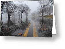 Where The Road Leads Greeting Card