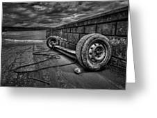 Where The Roads End... Greeting Card