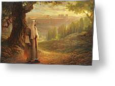 Wherever He Leads Me Greeting Card