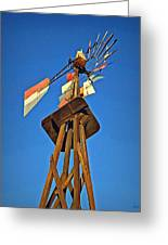 Which Way The Wind Blows Greeting Card by Glenn McCarthy Art and Photography