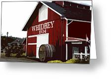 Whidbey Winery 1904 Greeting Card