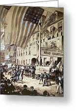 Whig Party Parade, 1840 Greeting Card