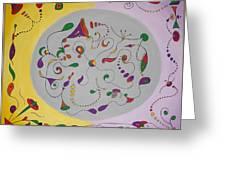 Whimsical Circle Greeting Card