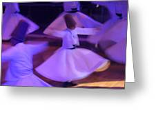 Whirling Dervish3 Greeting Card
