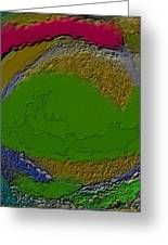 Whirlpool Colors Greeting Card