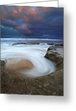 Whirlpool Dawn Greeting Card